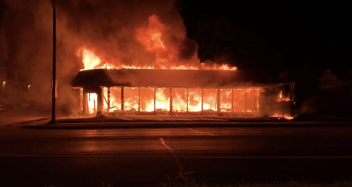 Kenosha Burns At Hands Of BLM, Antifa: 'Why Did We Deserve It?' Store Owner Asks